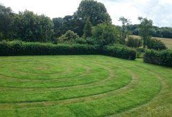 circular lawn large
